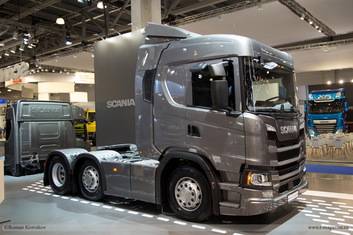 Грузовик Scania Next Generation